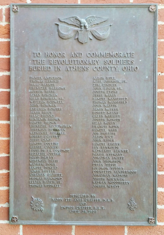 Athens County Buried Rev War Patriots Plaque.jpg