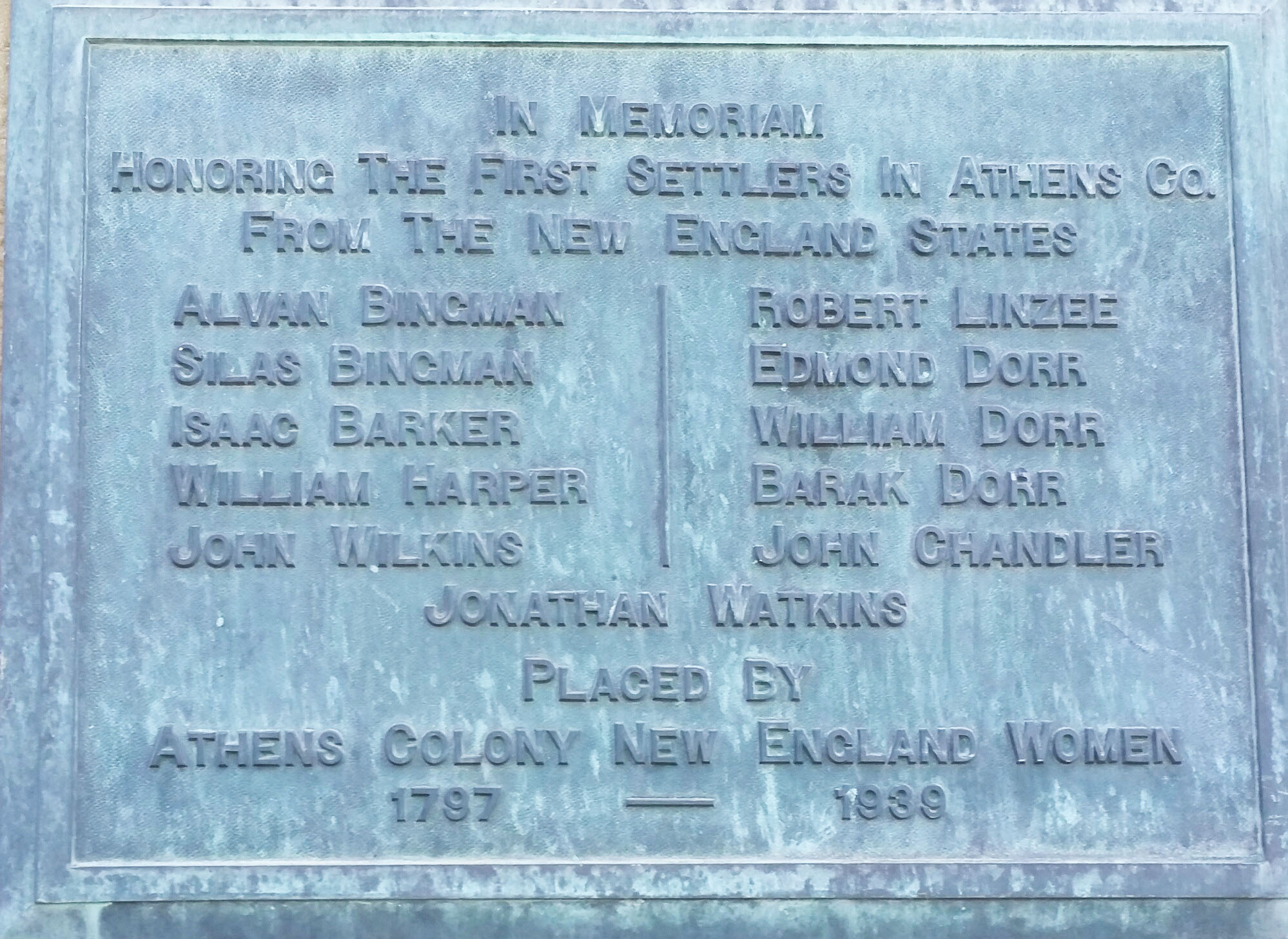 Athens County Founders Plaque.jpg