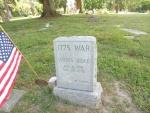 James Brice, Patriot, Tombstone, West State.JPG
