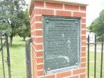 West State Street Cemetery Veterans Plaque.JPG